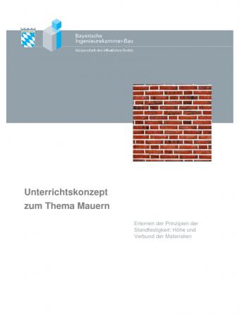 Unterrichtskonzept Mauern Fur Heimat Und Sachunterricht
