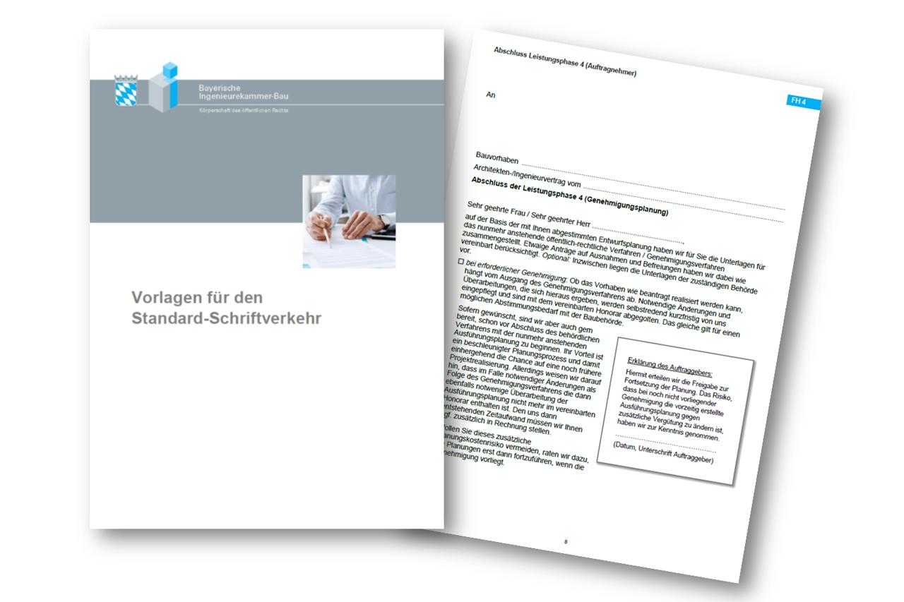 Vorlagen für den Standard-Schriftverkehr in Ingenieurbüros