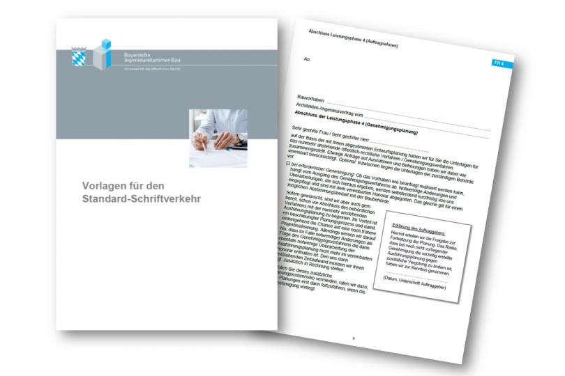 Vorlagen für Standard-Schriftverkehr in Ingenieurbüros