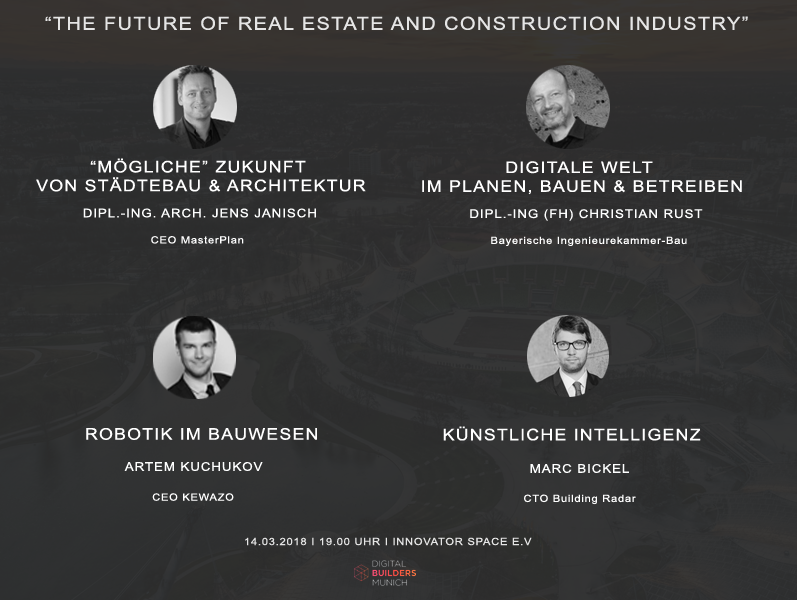 The Future of Real Estate and Construction Industry - Programm