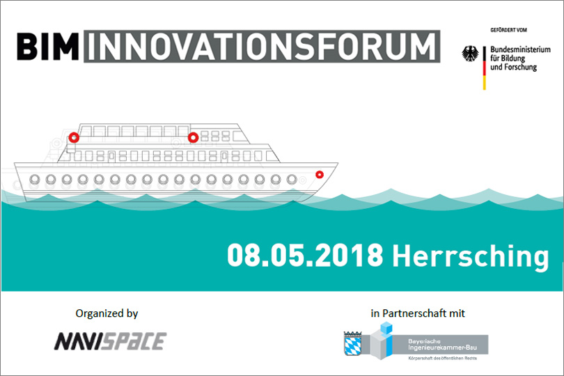 BIM Innovationsforum: Business-Matchmaking Event am 8. Mai 2018 in Herrsching