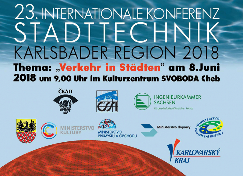 23. Internationale Konferenz Stadttechnik am 8. Juni 2018 in Cheb