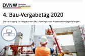 4. Bau-Vergabetag 2020 digital - 16.09.2020 - Online