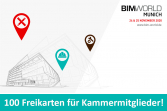 5. BIM World MUNICH - 24./25.11.2020 - 100 Freikarten!