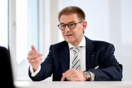 Dr. Werner Weigl, zweiter Vizepräsident der Bayerischen Ingenieurekammer-Bau